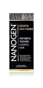Nanogen Hair Thickening Fibres Grey, 1er Pack (1 x 15 g)