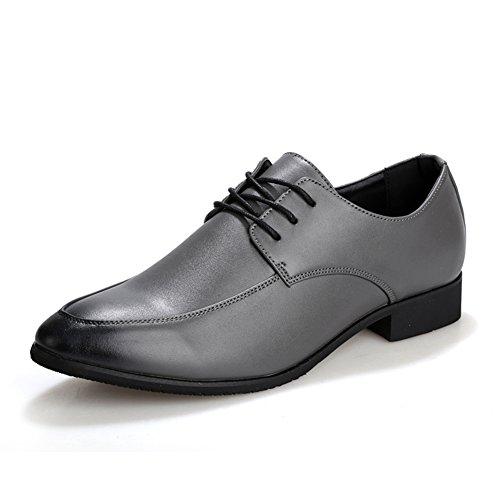 Estate scarpe di moda semplice/Basso scarpe a punta/Inghilterra marea scarpe/Scarpe casual di tutti i giorni-scarpe uomo Grigio
