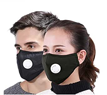 Xtore® N95 / PM 2.5 Ultra-Comfortable Anti Pollution Mask | Breathing Valve | Anti Dust - Prevents Particulate matter Premium Quality - (Pack of 2)