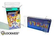 5x Schutzhülle für Super Famicom Originalverpackungen japanischer Super Nintendo SFC box protector 0,3 mm GLASKLAR