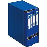 Dohe Oficolor Módulo, 4 carpetas, folio, color azul 09451/54