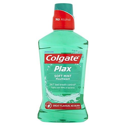 Colgate Plax Soft Mint Mouthwash, 500 ml
