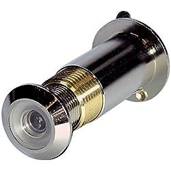 Jourjon Jean 013523 Judas optique le cyclope espion 26-65mm chromé, Argent