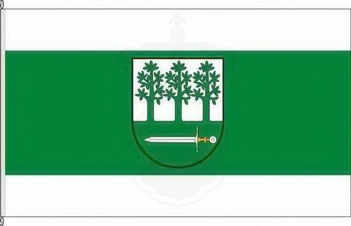 Königsbanner Kleinflagge Nordwalde - 40 x 60cm - Flagge und Fahne