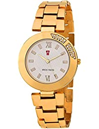 Swiss Trend Esthetic Luxury Golden Analog Watch For womens - OLST2221