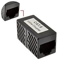 CAT6 RJ45 Coupleur gigabit coupleur Femelle Vers Femelle adaptateur