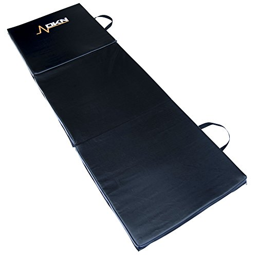 DKN-Unisex-Adult-Tri-Fold-Exercise-Mat-With-Handles-Black-One-size