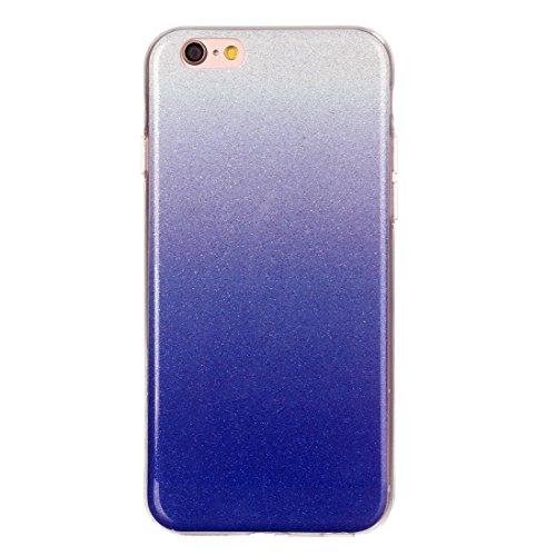 Wkae Case & Cover Pour iPhone 6 Plus &6s plus IMD Couleur Fades Glitter Housse de protection TPU poudre ( SKU : IP6P8855M ) IP6P8855C