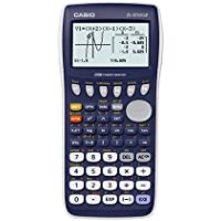 Casio FX-9750GII - Calculadora gráfica (8 líneas de 21 caracteres, matrix cálculos, geometría dinámica), color azul