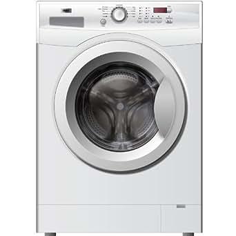 Haier HW80-1479 Autonome Charge avant 8kg 1400tr/min A+++ Blanc machine à laver - machines à laver (Autonome, Charge avant, Blanc, Gauche, LCD, Acier inoxydable)