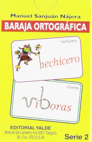 Baraja ortográfica Serie 2º por Manuel Sanjuán Nájera