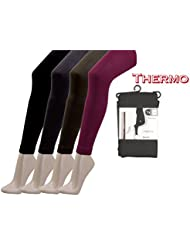 Damen-Thermo-Leggings, angeraut