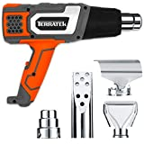Terratek 2000W Heat Gun Professional Hot Air Gun, 2 Temperature Settings 350°C