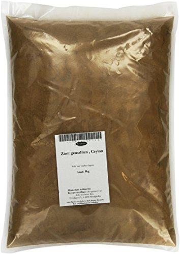 Eder Gewürze - Zimt gemahlen , Ceylon - 1 kg Gewürze, 1er Pack (1 x 1 kg)