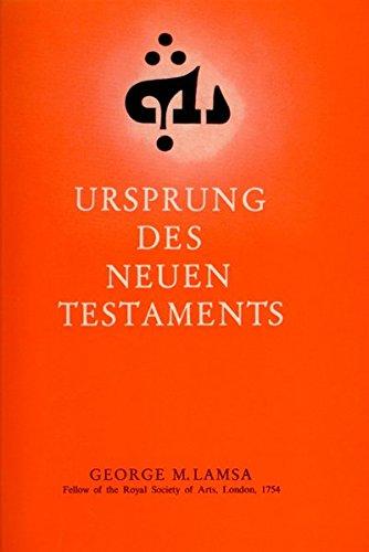 Ursprung des Neuen Testaments