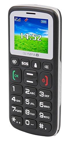 Olympia Bravo Komfort-Mobiltelefon mit Großtasten und Farb Display