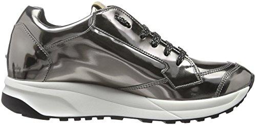 Liu Jo Damen Running Canfora Sneakers Grau (peltro Met.)