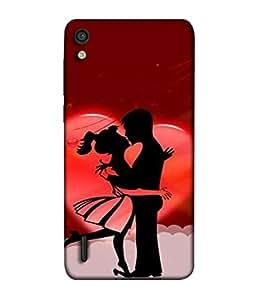 PrintVisa Designer Back Case Cover for Honor P7 (couple most romantic dancing pose)