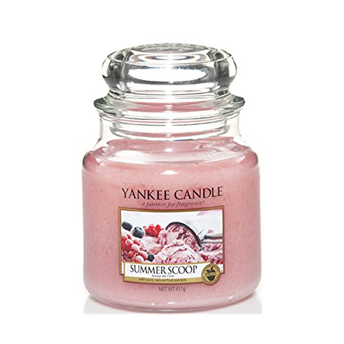 Yankee Candle Glaskerze, mittel, Summer Scoop