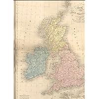 Carta delle Isole Britanniche ( Atlante Universale di Geografia antica
