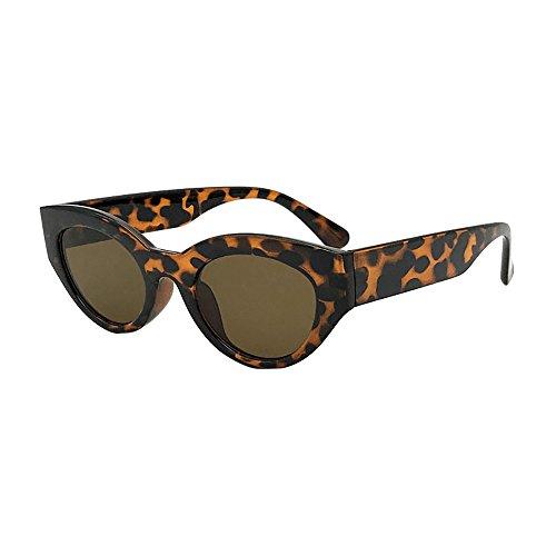 Oyedens Flip Box neutrale Sonnenbrille - Frauen-Mann-Weinlese-großer Rahmen-Muschelschale Sonnenbrille-Retro- Eyewear-Mode