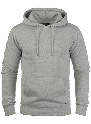 !Solid Bert Herren Kapuzenpullover Hoodie Pullover Mit Kapuze Und Fleece-Innenseite, Größe:XXL, Farbe:Light Grey Melange (8242) Mit Kapuze Herren Fleece
