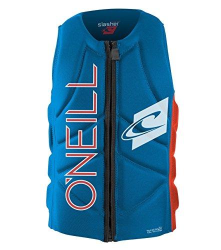 O'Neill Slasher Comp Vest Protektor M brtblu / neonred
