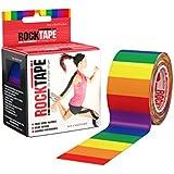 "RockTape 2"" Pattern Active Recovery Kinesiology Tape - Rainbow"