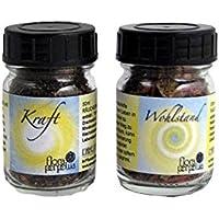 flora perpetua Thomas Kinkele e.K. Räucherung Wunsch-Räuchermischung 2er Set Kraft und WOHLSTAND, in 50 ml Glasfläschchen preisvergleich bei billige-tabletten.eu