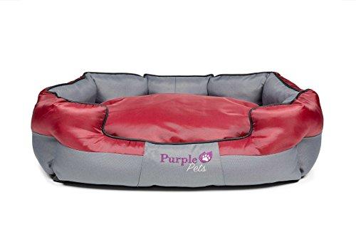 Purple-Pets Cuccia Letto per Cani Tradizionale, Cuccia...