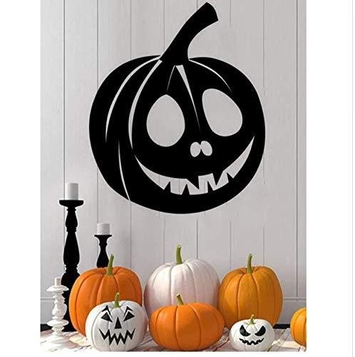 LONGTENGHEIHA Neue Kunst Wandtattoo Dekor Halloween Kürbis Innovative Wandaufkleber Abnehmbare Dekorative Wandaufkleber Wohnkultur