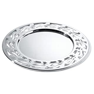 Alessi SG35 Ethno Plate Mat 33 Centimeter - 18/10 Stainless Steel Mirror Polished