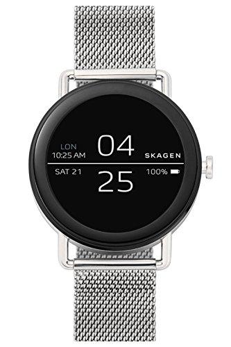 Skagen Reloj Digital para Unisex de Cuarzo con Correa en Acero Inoxidable SKT5000