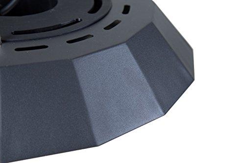 Sunred Hängemodell 2000 W Halogen mit Beleuchtung, schwarz, 44 x 44 x 30 cm, CUF17B - 3