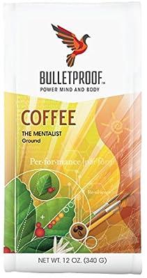 Bulletproof 'The Mentalist' Dark Roast Ground Coffee 340g by Bulletproof
