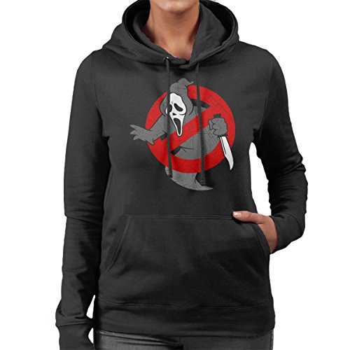 Ghostbusters Scream Mashup Women's Hooded Sweatshirt