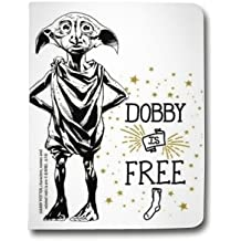Leather flip Case carcasa iPad Air 2 WB License harry potter dobby - Free B