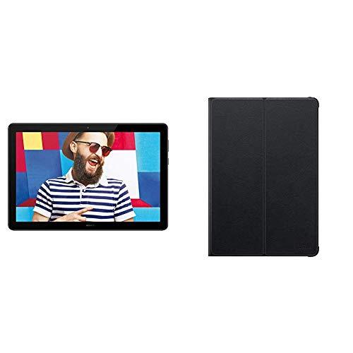 Huawei MediaPad T5 LTE Tablet-PC 25,6 cm (10,1 Zoll), Full HD, Kirin 659, 3 GB RAM, 32 GB interner Speicher, Android 8.0, EMUI 8.0, schwarz