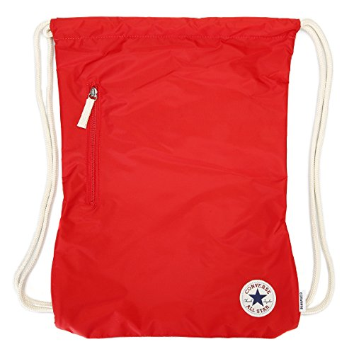 Converse Unisex Core Poly Cinch Gymsack Rucksack Converse Red