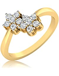 IskiUski 14KT Gold And Diamond Ring For Women - B01N7YMRAE