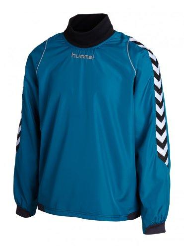 Hummel Trainingsshirt Bee Authentic azurblau XL (Blaue Mikrofaser-pullover)
