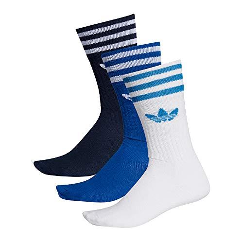 adidas Originals Socken Dreierpack SOLID CREW SOCK ED9363 Mehrfarbig, - Herren Tennis Socken Adidas