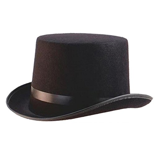 ILOVEFANCYDRESS SUPER =SCHWARZER Zylinder Hut =IN DEN DURCHMESSERN VON 55cm & 58cm & 60cm =TOLL FÜR Jede Art DER VERKLEIDUNG ODER KOSTÜM 60cm Hut (Machen Phantom Der Oper Kostüm)