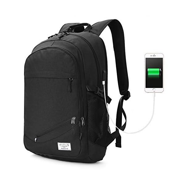 fcc8d17938 Koolertron Zaino per PC portatile 15.6″ Laptop Borsa Backpack ...