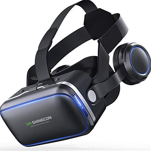 TLgf Vr Brille 3D-SVirtual Reality-Gaming-Brille mit HiFi-Kopfhörer 3D-Brille, um Ihre besten...