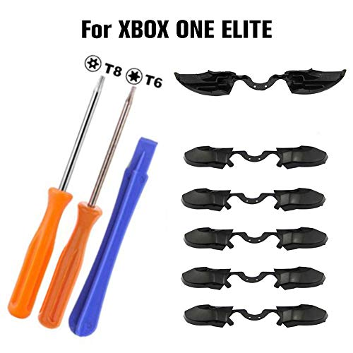cuckoo-X Ersatzteil LB RB Knopf Stoßfänger und Stoßdämpfer vorne für Xbox One Elite Appealing Big Sale Controller