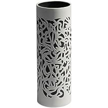 Industreal FALLING vaso in porcellana bianca e nera
