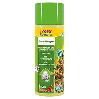 sera 03260 florena 500 ml - Flüssiger Basisdünger für prächtige Wasserpflanzen