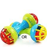 Fliyeong Baby Hand Glocke Shaker Hantel Rasseln Sound erfassen Beißring Ball Finger Flexibilität...