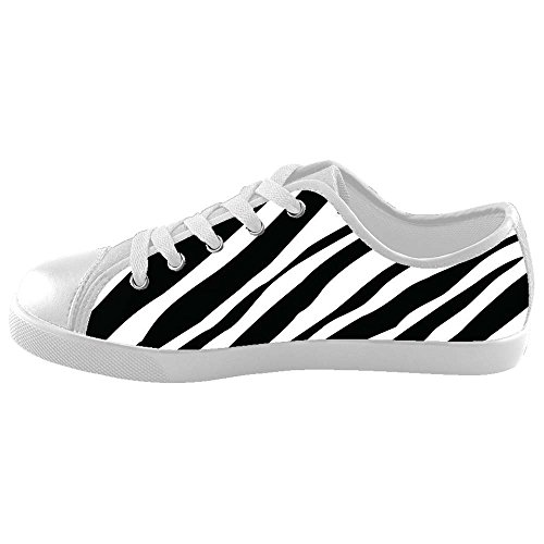 Dalliy zebra stripe Girl's High-top Canvas shoes Schuhe Footwear Sneakers shoes Schuhe